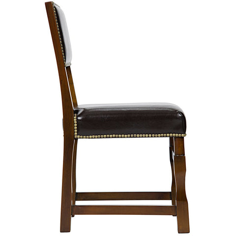 Noir - Abandon Side Chair, Distressed Brown
