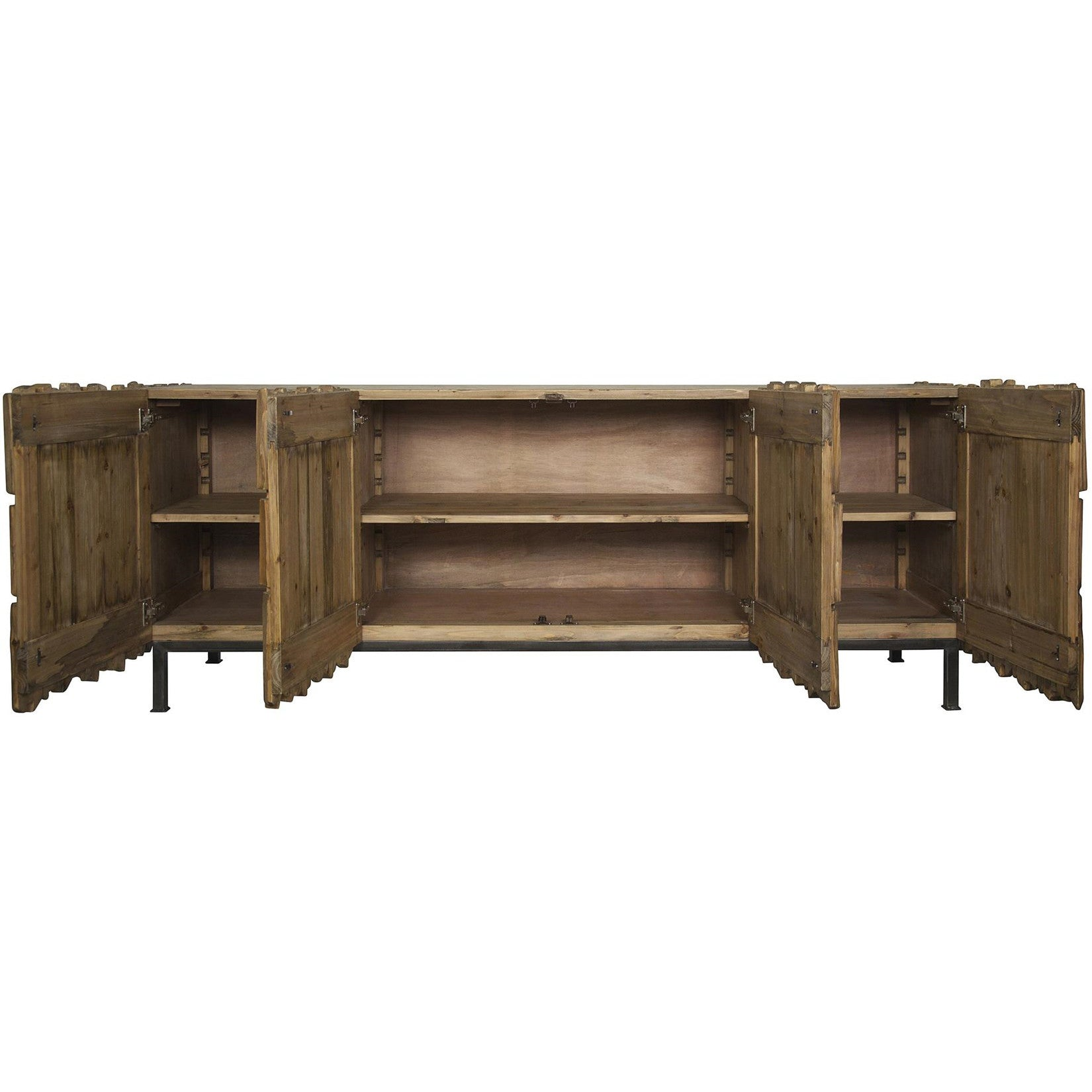 Noir - Skopas Sideboard, Old Wood