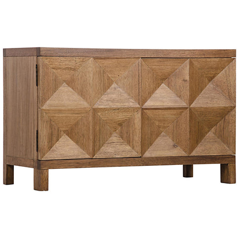 Noir - Quadrant 2 Door Sideboard, Dark Walnut