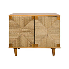 Noir - Brook 2 Door Sideboard, Teak