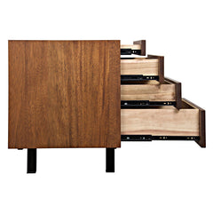 Noir - Mind-Croft Sideboard, Walnut and Metal