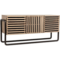 Noir - Rika Sideboard, Washed Walnut