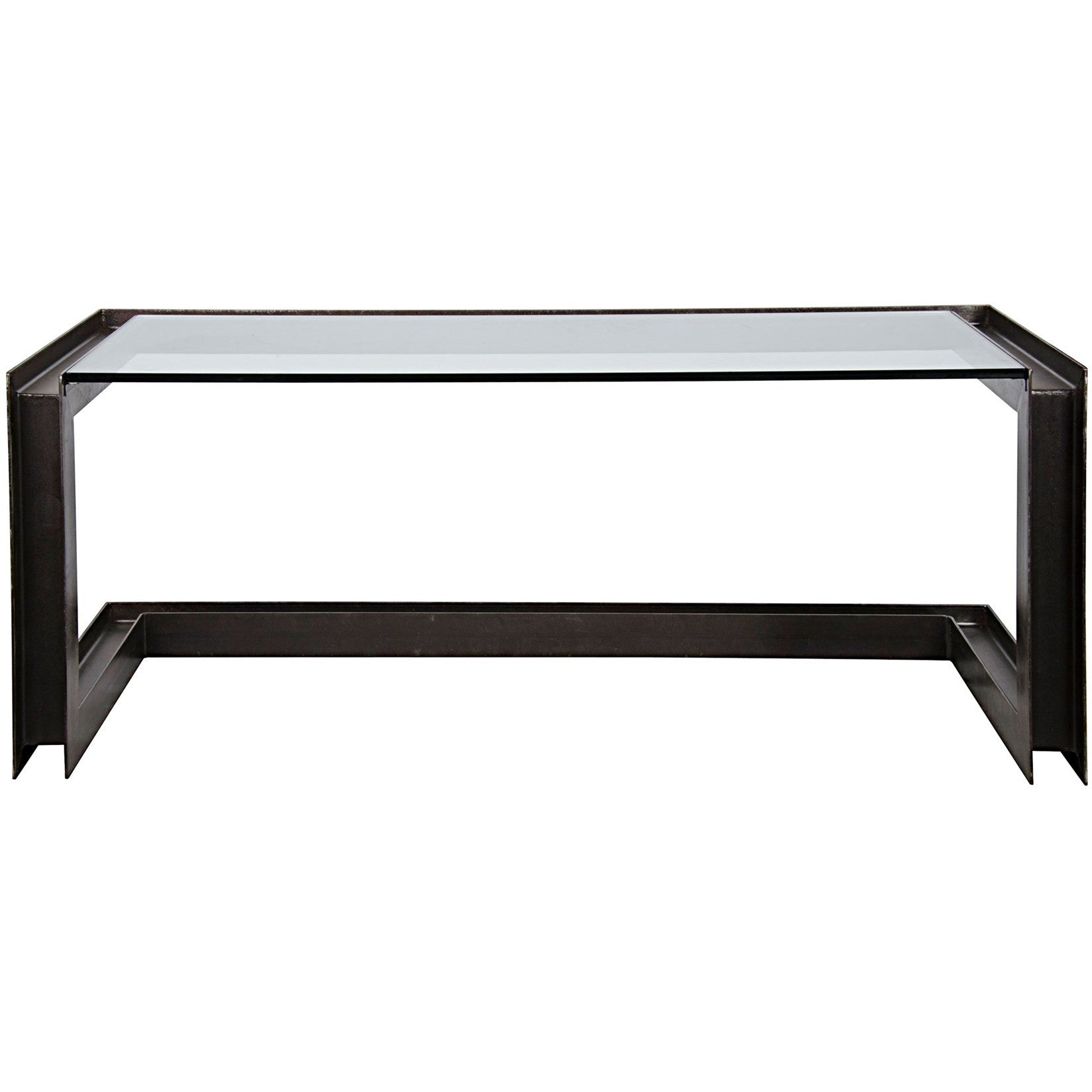 Noir - Structure Metal Desk