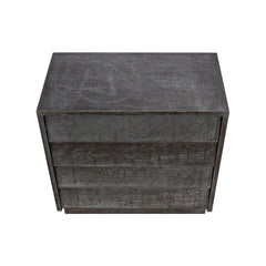 Noir - Come As You Are, 4 Drawer, Plain Zinc