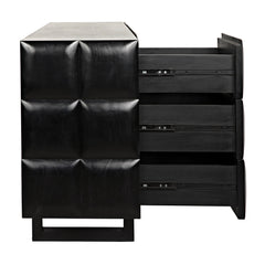 Noir - Atlas Dresser, Hand Rubbed Black