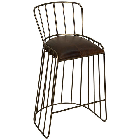 Noir - David Stool, Metal/Leather