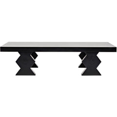 Noir - Suzu Coffee Table, Hand Rubbed Black
