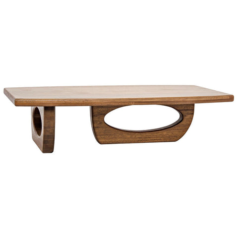 Noir - Douglas Coffee Table, Dark Walnut