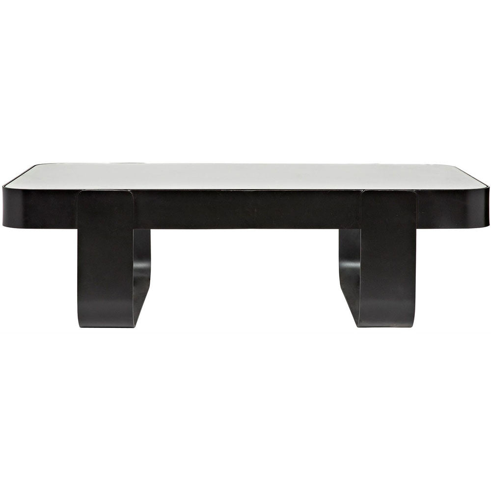 Noir - Marshall Coffee Table, Metal