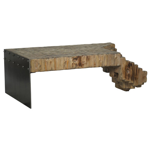 Noir - Berninni Coffee Table, Old Wood