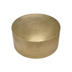 Noir - Dixon Coffee Table, Antique Brass, Metal