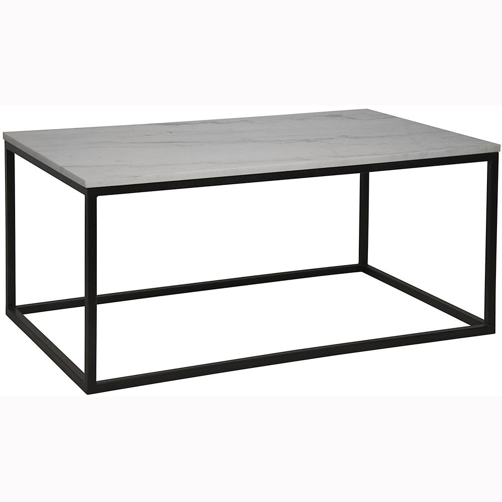 Noir - Manning Coffee Table, Quartz