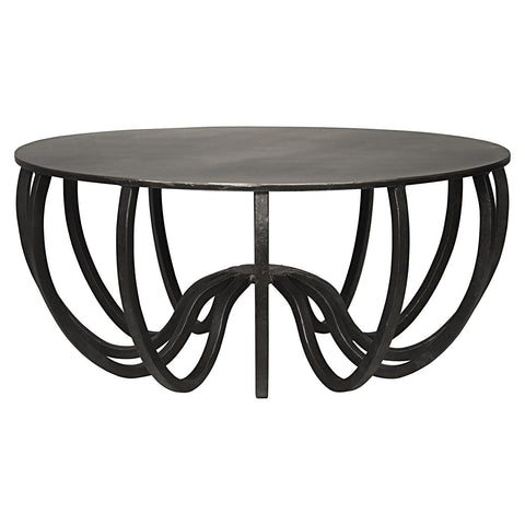 Noir - Cambell Coffee Table, Metal