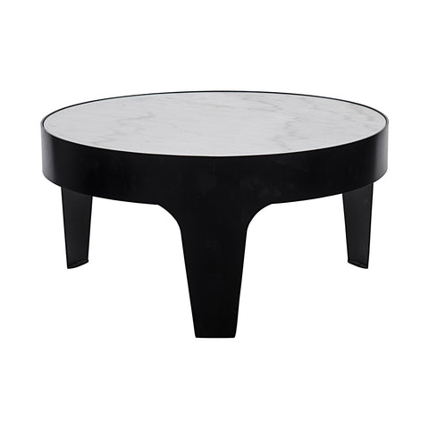Noir - Cylinder Round Coffee Table