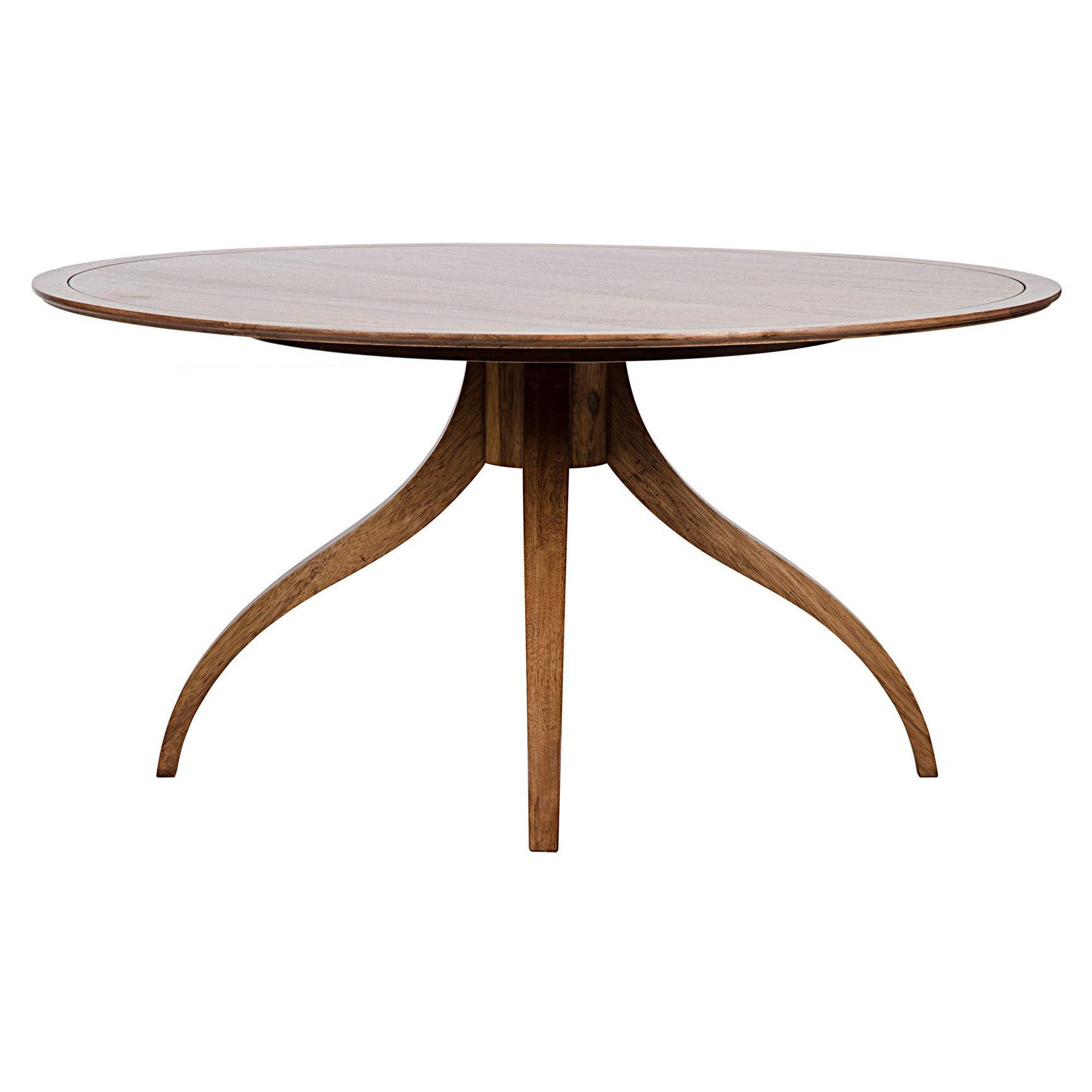 Noir - Vera Dining Table, Dark Walnut