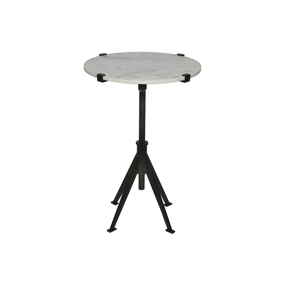 Noir - Edith Adjustable Side Table, Small