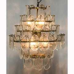 Noir - Mystic Chandelier, Antique Brass