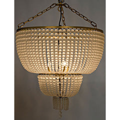Noir - Karenina Chandelier, Antique Brass