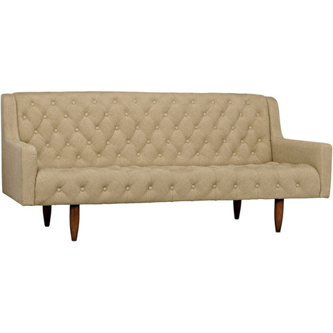 Noir - Reynolds Sofa, Tufted, Linen