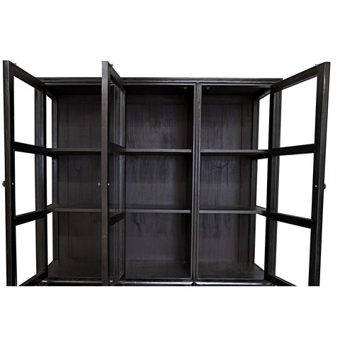 Noir - Colonial Hutch, Hand Rubbed Black