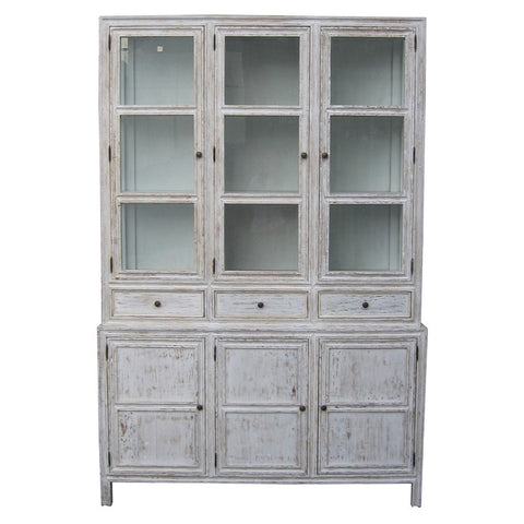 Noir - Colonial Hutch, White Wash