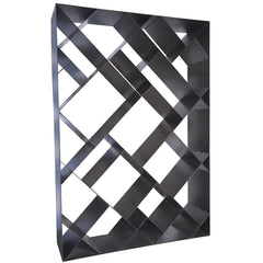 Noir - Small Diagonal Bookcase, Metal