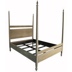 Noir - Venice Bed, Eastern King, Weathered
