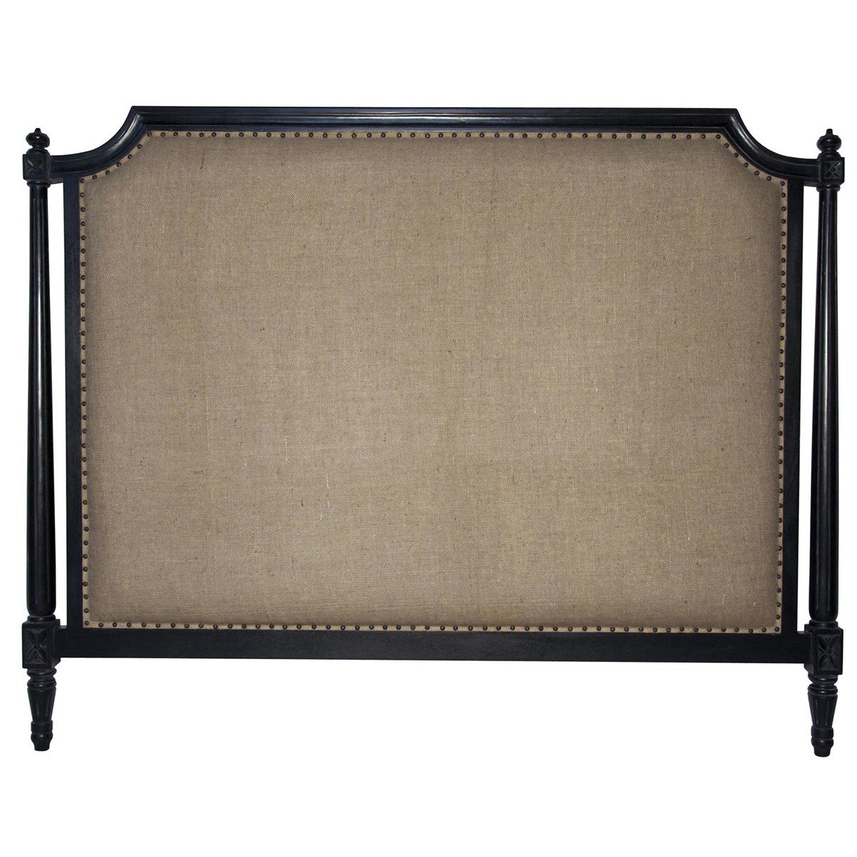 Noir - Isabelle Headboard, CA King, Hand Rubbed Black