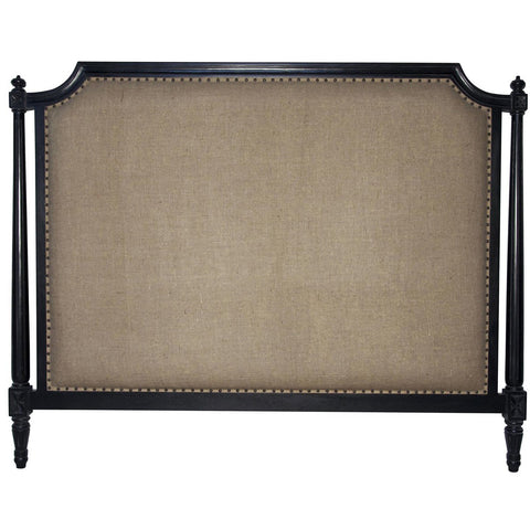 Noir - Isabelle Headboard, Eastern King, Black