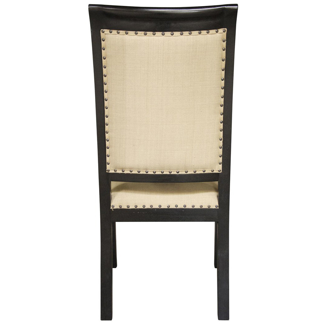 Noir - Henry Arm Chair, Hand Rubbed Black