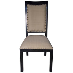 Noir - Henry Side Chair, Hand Rubbed Black