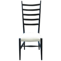 Noir - Ladder Chair, Hand Rubbed Black