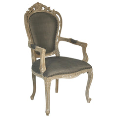 Noir - Orleon Arm Chair, Weathered