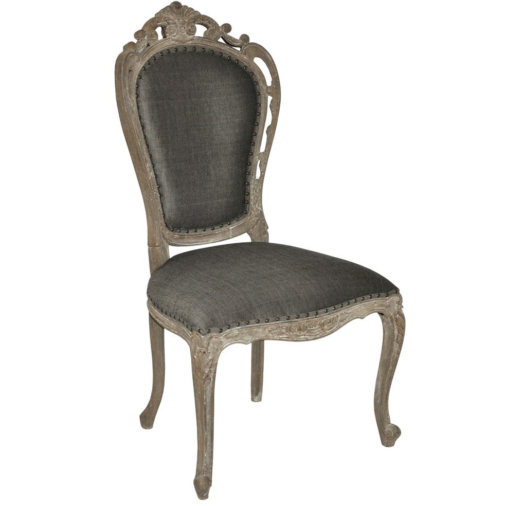 Noir - Orleon Side Chair, Weathered