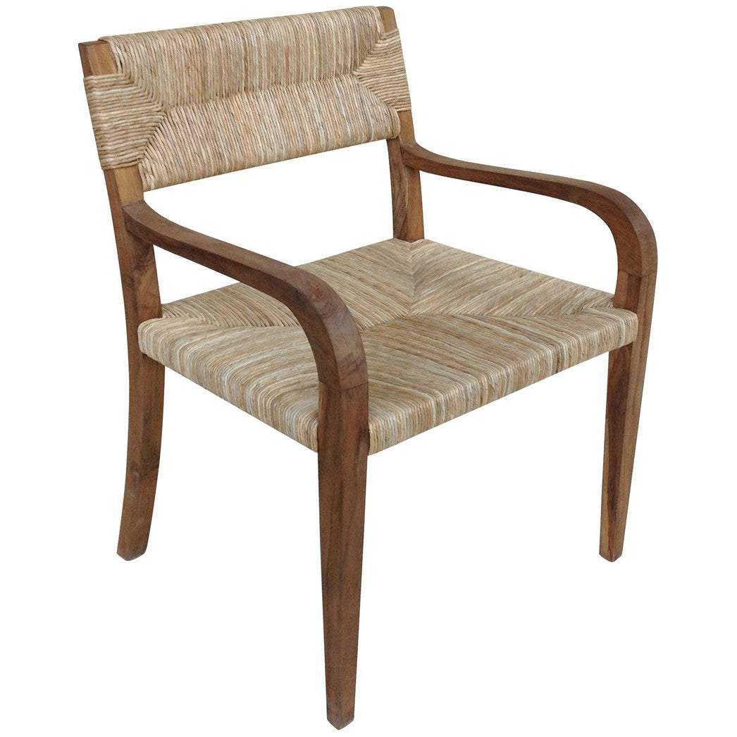 Noir - Bowie Arm Chair, Teak