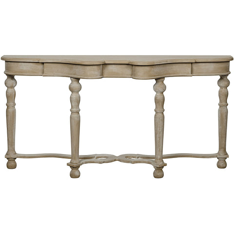 Noir - Chateau Sofa Table, Weathered
