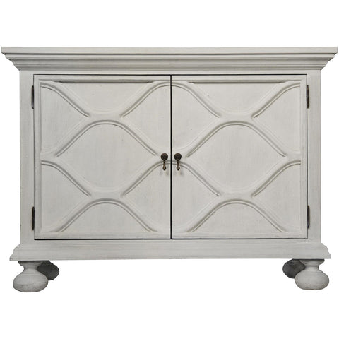 Noir - Comles Sideboard, White Weathered