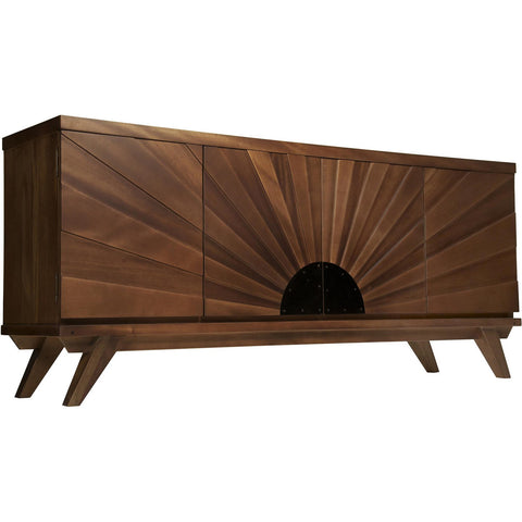 Noir - Sunset Console, Dark Walnut
