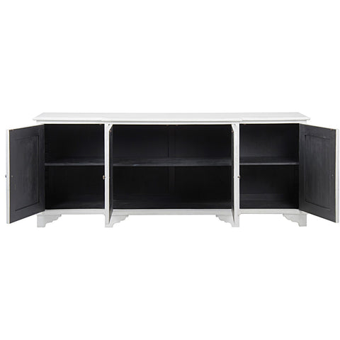 Noir - Ellington Sideboard, White Weathered