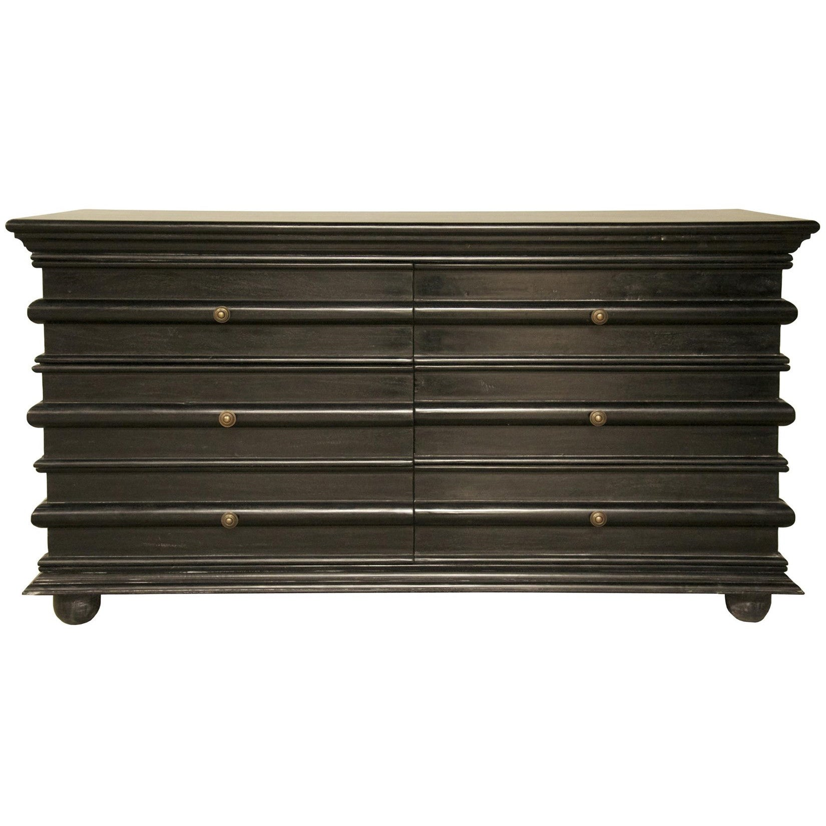 Noir - Ascona Chest, Hand Rubbed Black