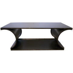 Noir - Alec Coffee Table, Metal