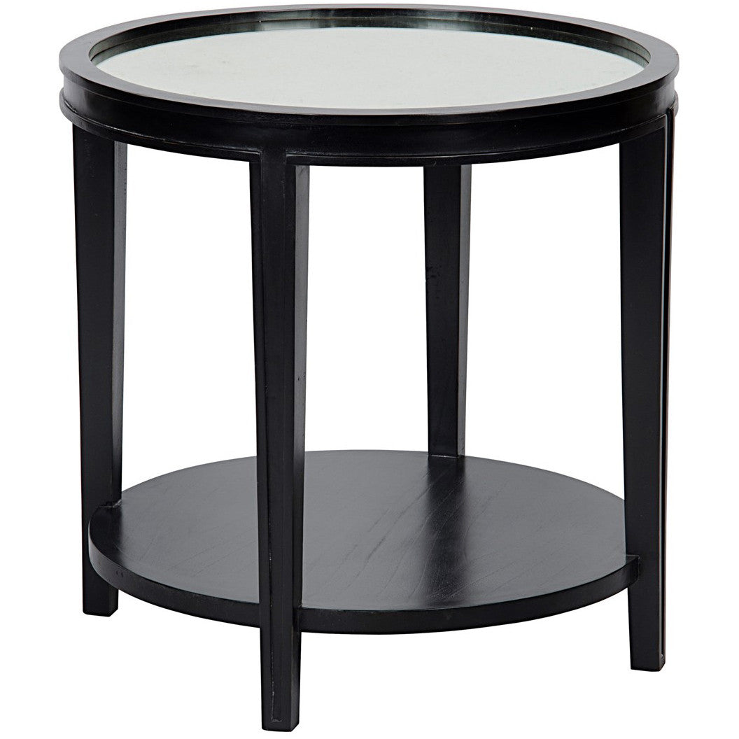 Noir - Imperial Side Table, Hand Rubbed Black