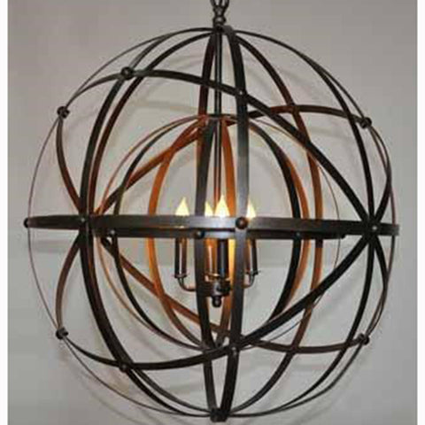 Noir - Alchemy Chandelier, Metal