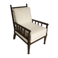 Noir - Abacus Relax Chair, Distressed Brown