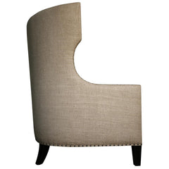 Noir - Berne Single Chair, Hand Rubbed Black
