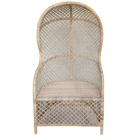 Noir - Gigi Chair, Rattan