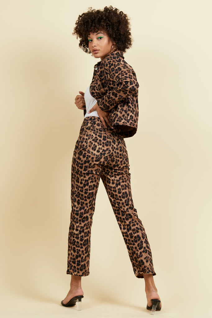 Junior Jean - Leopard