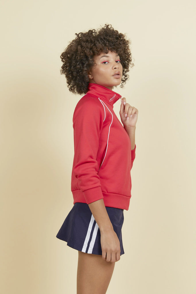 Miaou Sport Fleece - Red