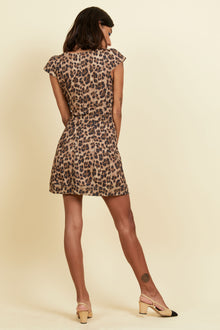 Gigi Dress - Leopard