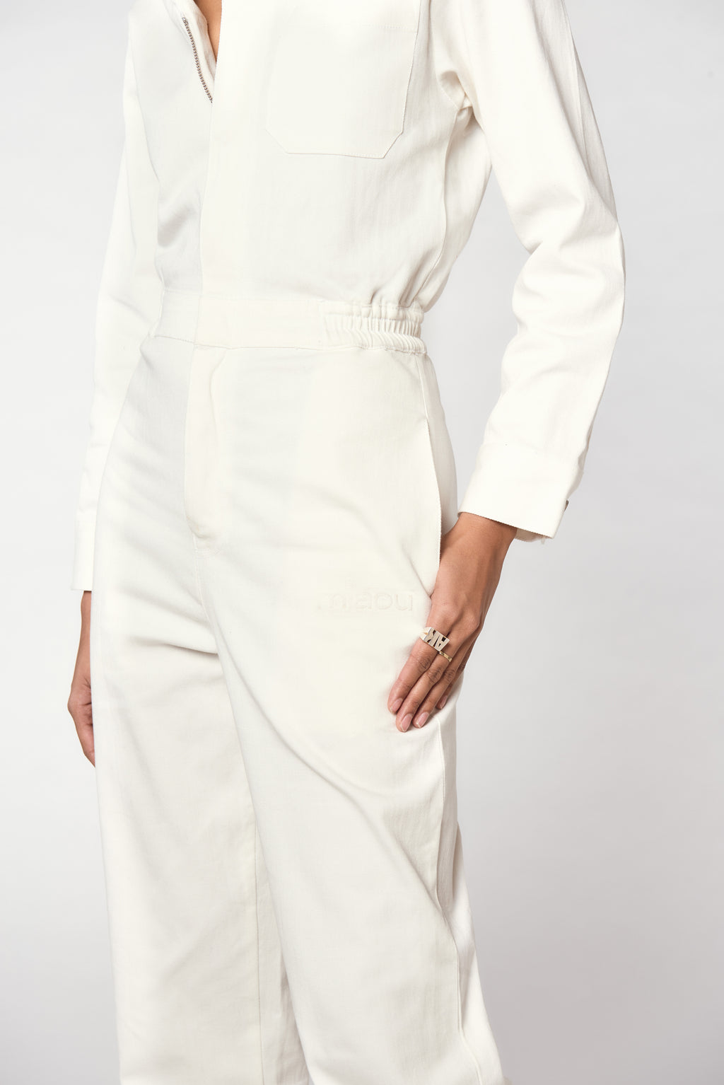 ROMY JUMPSUIT - WHITE